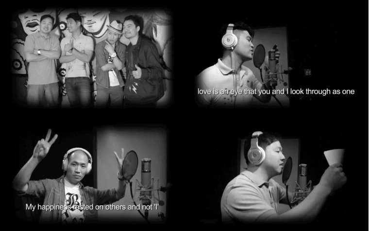 Dynamic Duo, Kero One, Dumbfoundead - Loves Gonna Getcha MV screenshots