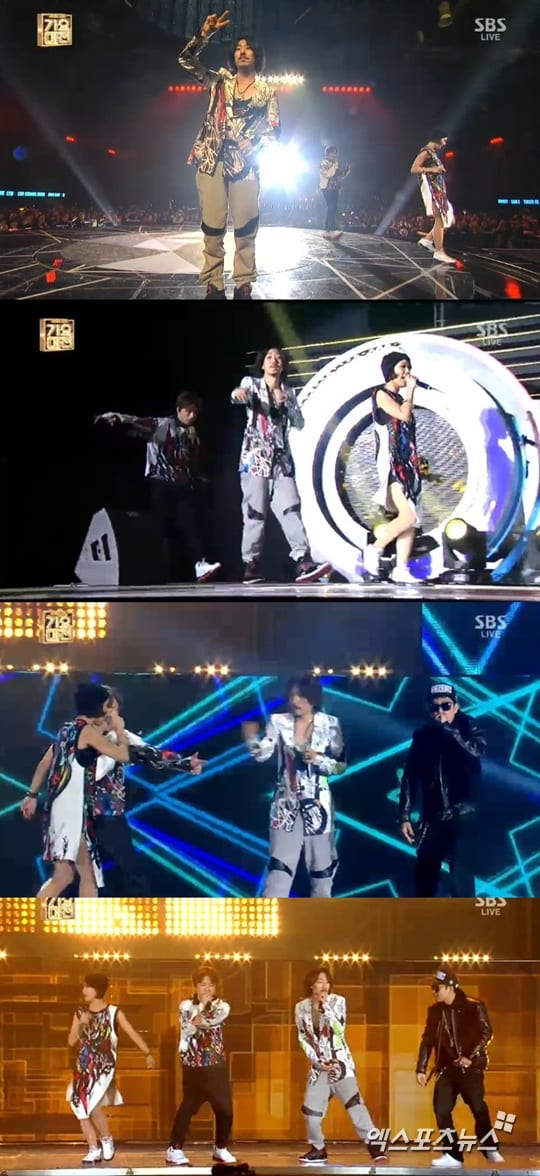 MFBTY performing at SBS Gayo Daejun 2013