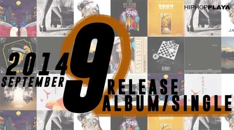 Korean hiphop albums of September 2014 by Hiphopplaya