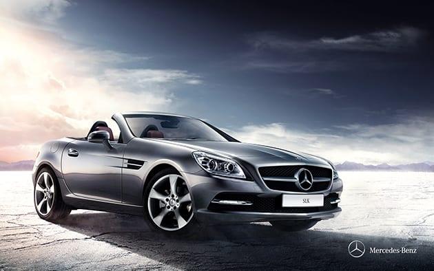 Mercedes Benz SLK ($61,233-94,770 USD)