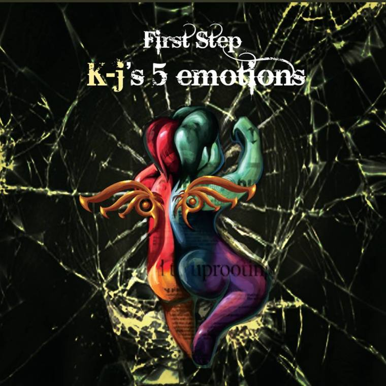 First Step - K-j's 5 emotions (album cover)