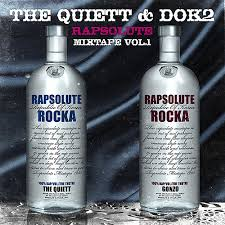 The Quiett & Dok2 - Rapsolute Mixtape Vol. 1 (cover)