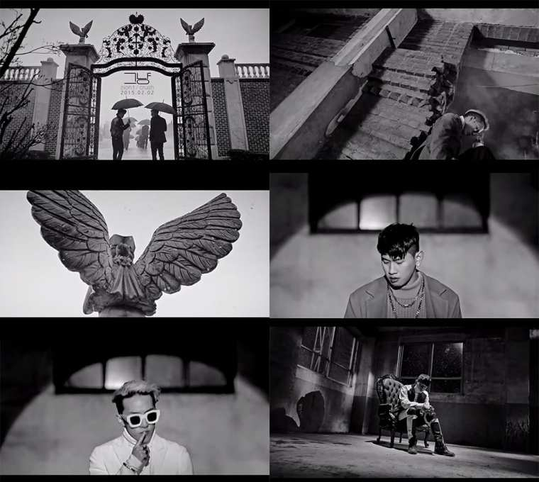 Zion.T & Crush - 그냥 (Just) teaser screenshots