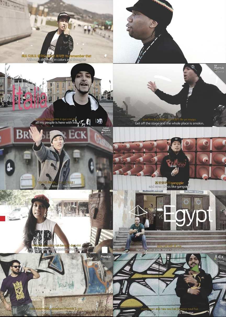 #HIPHOPISHIPHOP MV screenshots