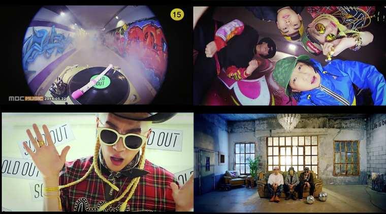 Yankie - SOLD OUT (Feat. Tablo, Zion.T, Loco) MV screenshots