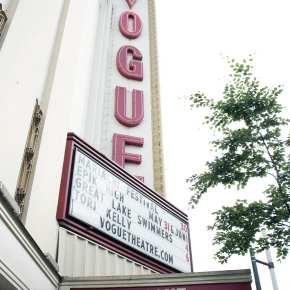 Vogue Theatre in Vancouver