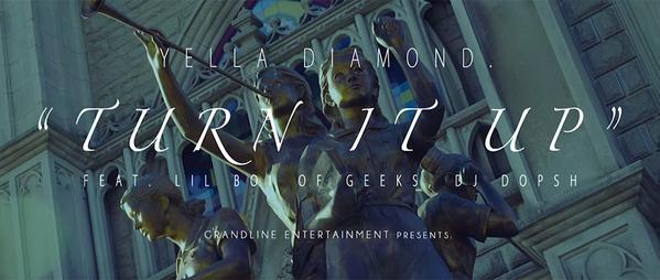 Yella Diamond - Turn It Up (Feat. Lil Boi of Geeks, DJ Dopsh) MV screenshot
