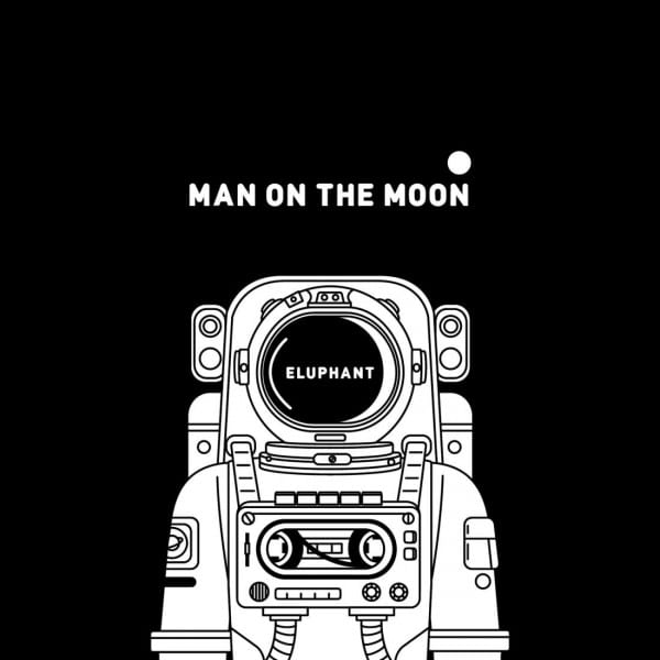 Eluphant - Man on the Moon (album cover)