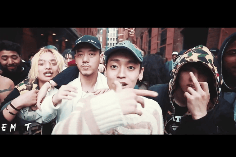 Ken Rebel - Underwater Rebels (Feat. Keith Ape, Okasian, Jay Allday) MV screenshot