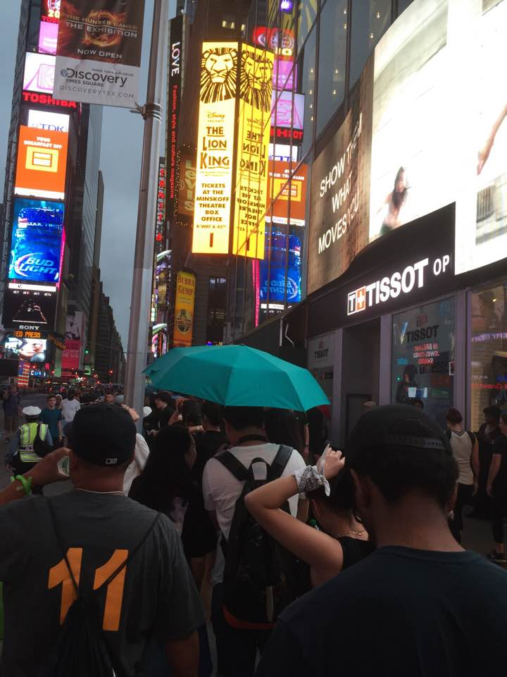 SMTM4 NYC Concert Line