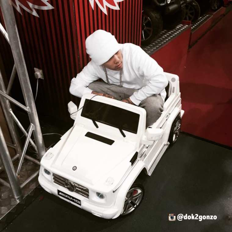 Dok2 in his smallest car