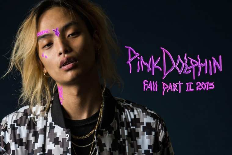 Keith Ape for Pink Dolphin's Lookbook Fall Part II 2015