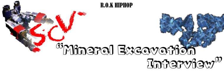 SCV's Mineral Excavation Interview banner