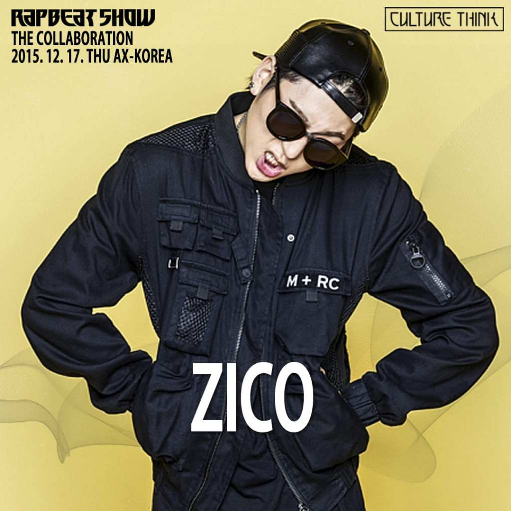 Zico for Rapbeat Show The Collaboration
