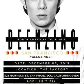 Beenzino - North American Tour 2015 san francisco