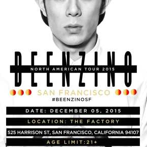 Beenzino - North American Tour 2015 san francisco