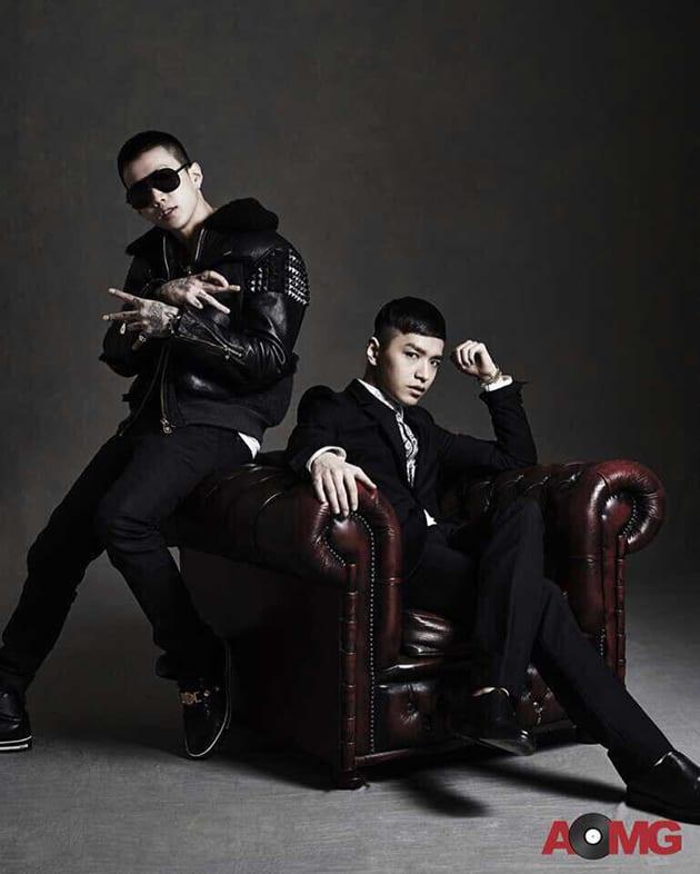 Jay Park and Simon Dominic