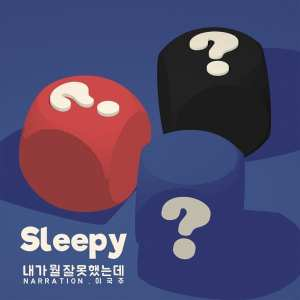 SleepY - 내가 뭘 잘못했는데 (album cover)