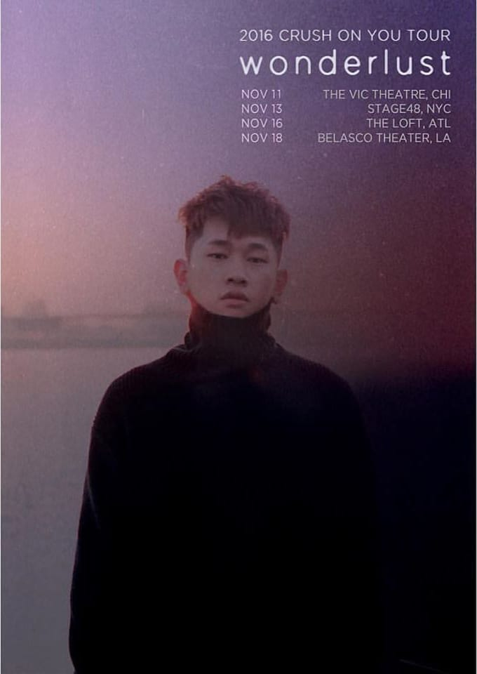 Crush tour poster 2016