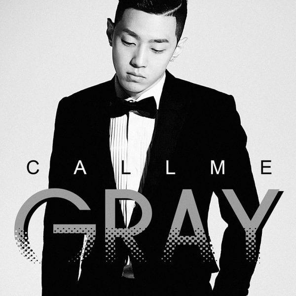 Gray - CALL ME GRAY (album cover)