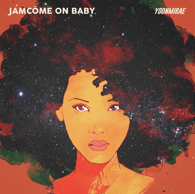 Yoon Mirae - JamCome On Baby (album cover)