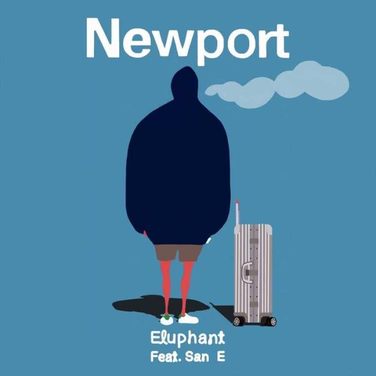 Eluphant - Newport (album cover)
