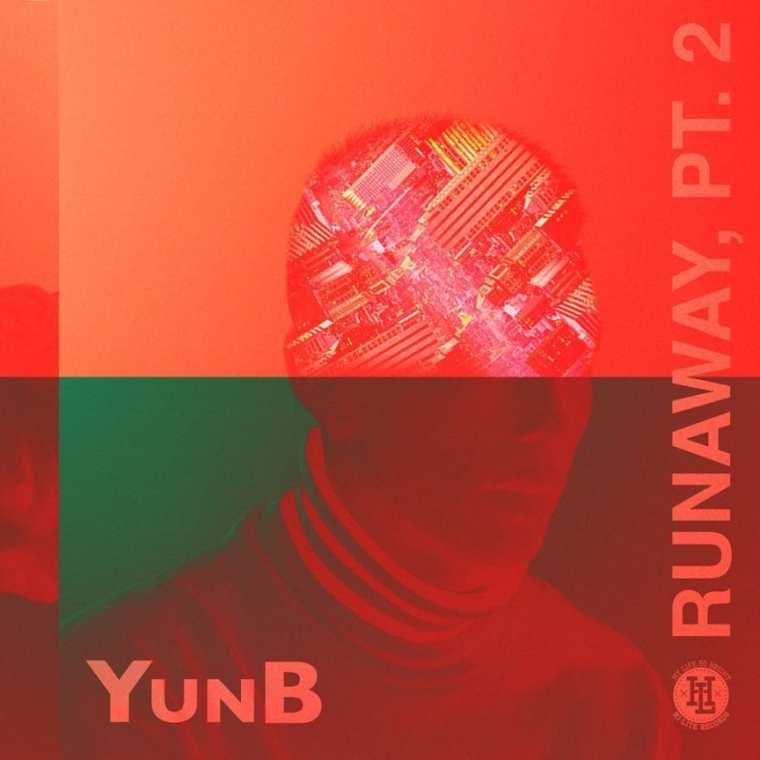 YunB - Runaway, Pt. 2 (album cover)