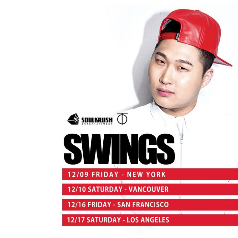 Swings Just Music Tour poster
