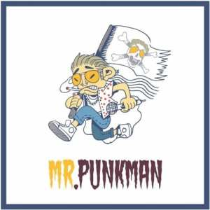Loxx Punkman - Mr. Punkman (album cover)