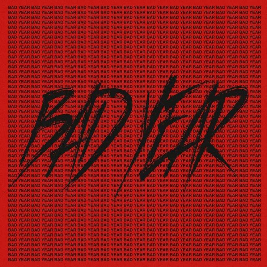 San E - BAD YEAR (album cover)