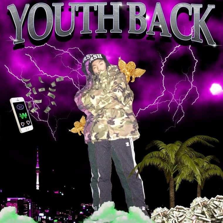 LuKydo - Youth Back (album cover)