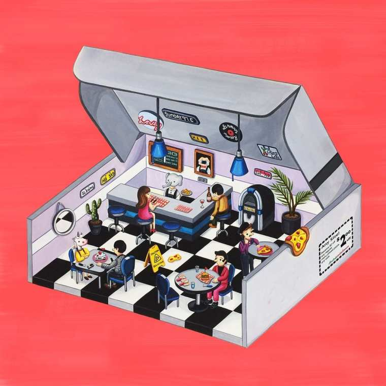 Andup - 싱숭 (album cover)