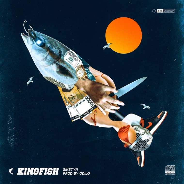 Sikstyn - KingFish (album cover)