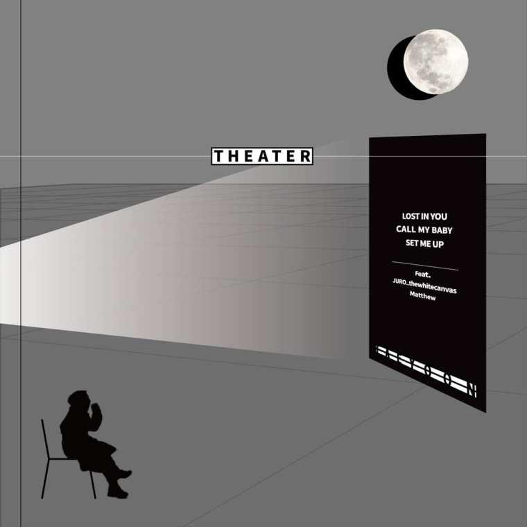 Tae Yoon - THEATER (album cover)