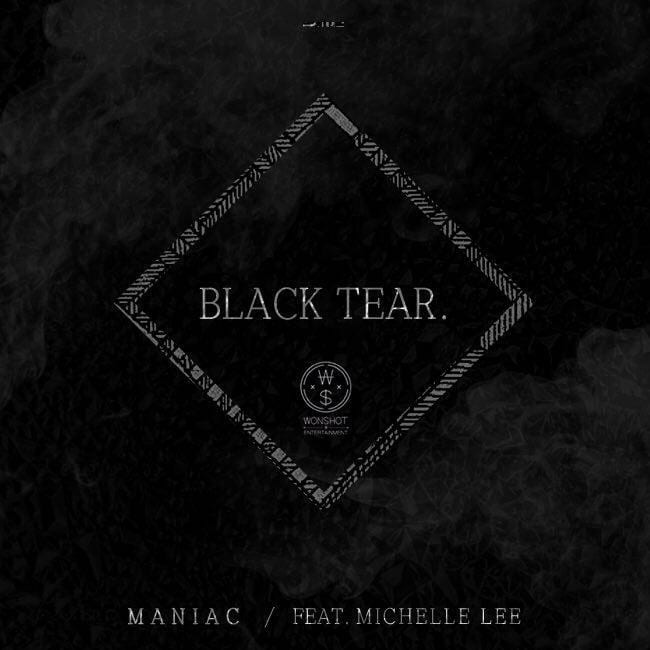 Maniac - BLACK TEAR (album cover)