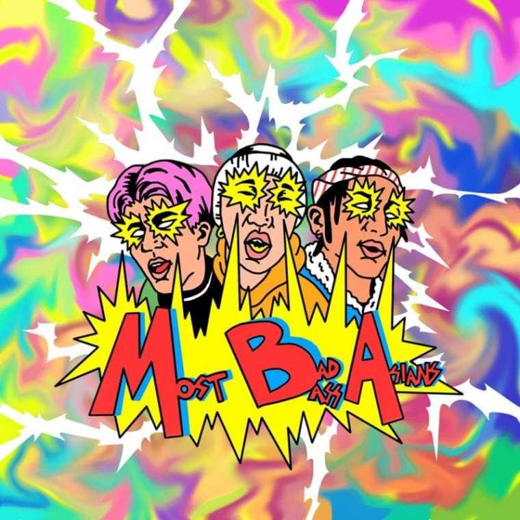 Most Badass Asian - Most Badass Asian (album cover)