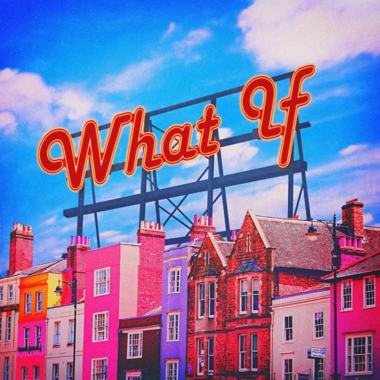 San E - What If (album cover)