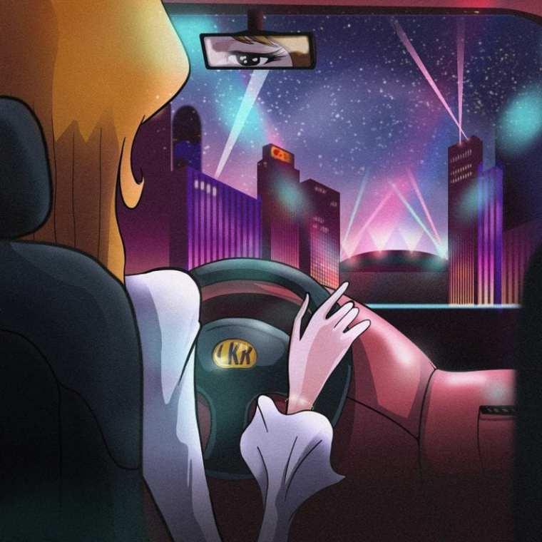 LAKE KIM - Drivin' Me Crazy (album cover)