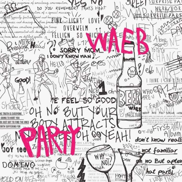 WAEB - PARTY (album cover)