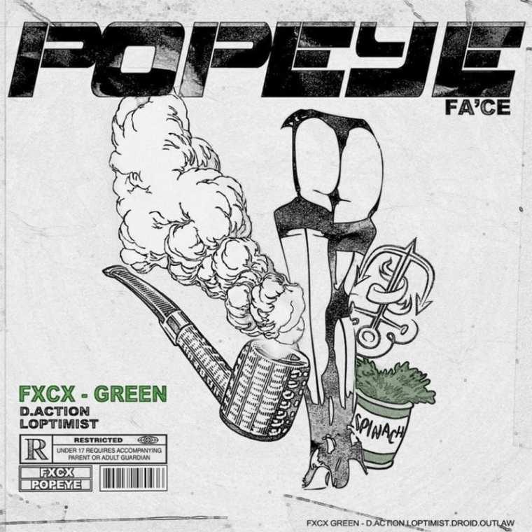 fa'ce - Popeye (album cover)