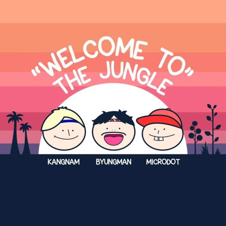 Microdot - Welcome to the Jungle (album cover)