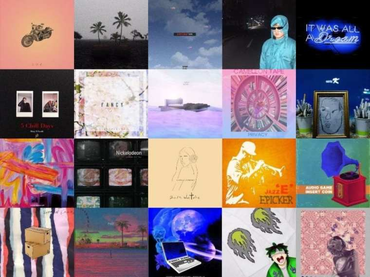 Covers of mixtapes released April 17