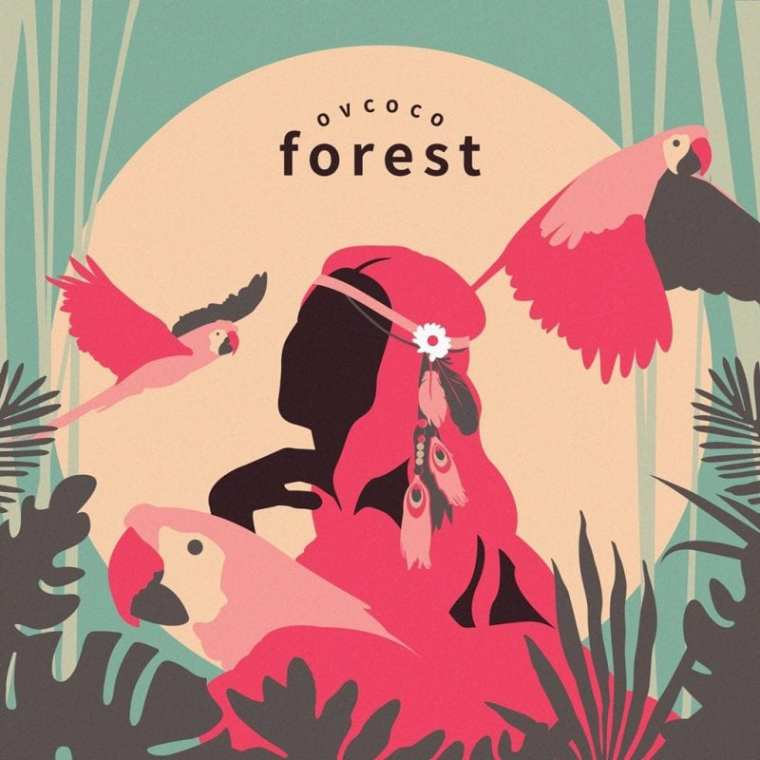 OVCOCO - Forest (album cover)