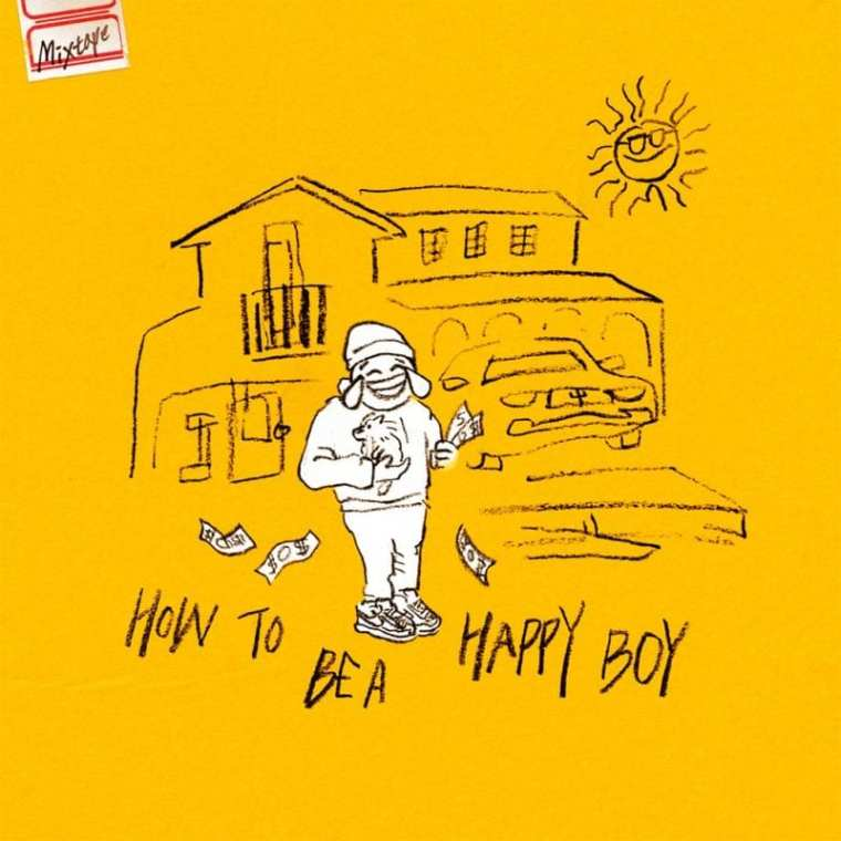 SUPERBEE - How to Be a Happy Boy (album cover)