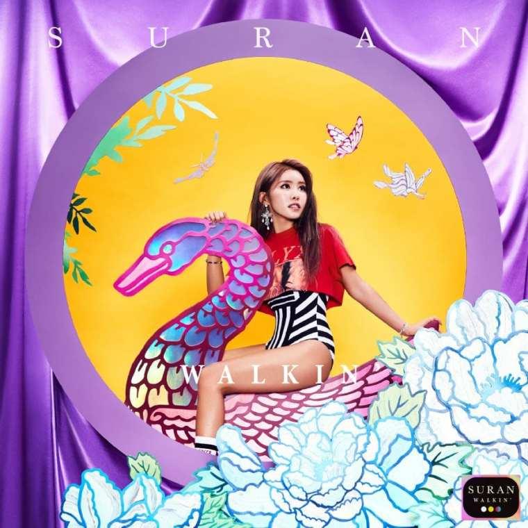 SURAN - Walkni' (album cover)