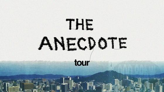 The Anecdote Tour poster