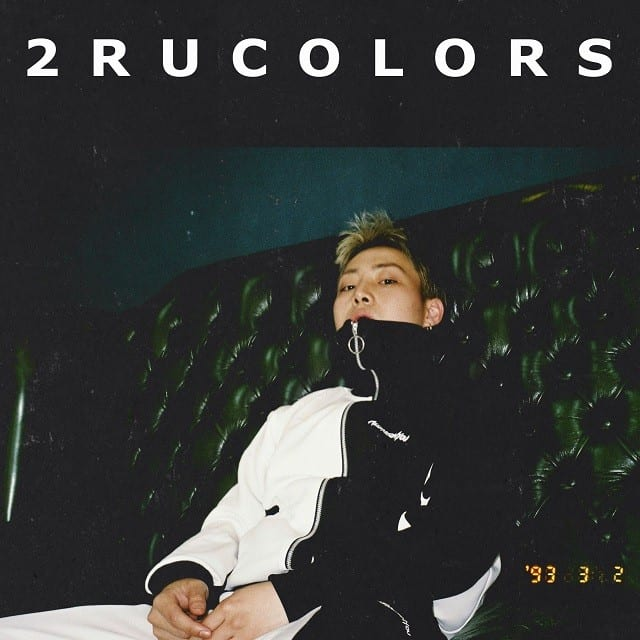 Tommy $trate - 2ru Colors (album cover)