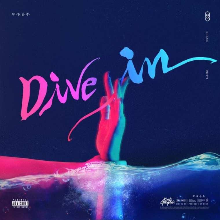 A.Tone - Dive In (cover art)