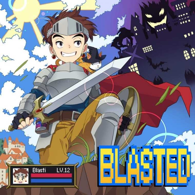 Blasti - Blasted (album cover)