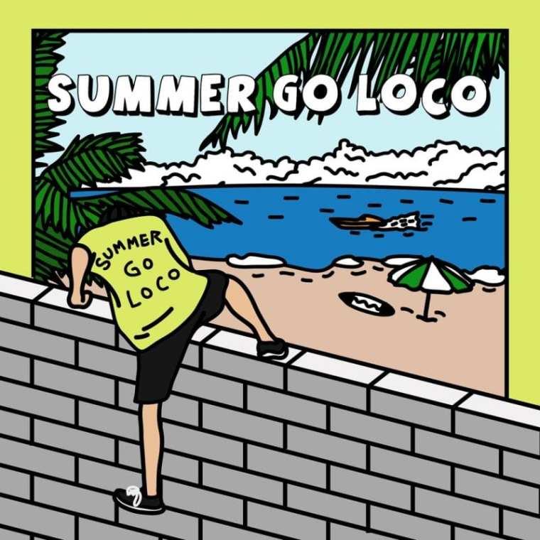 LOCO - Summer Go Loco (album cover)